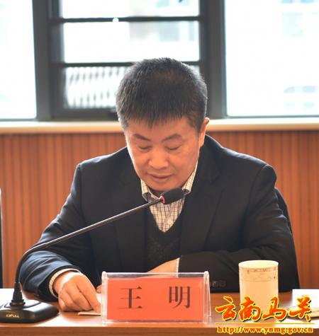 马关县委书记李献文作了致辞;中国农业发展银行江苏省分行,海安县人民